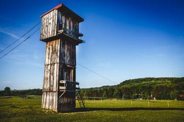 wieża widokowa - Boska Dolina